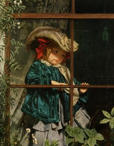 No Walk Today, by Sophie Gengembre Anderson (1823-1903)