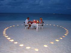 share a romantic mea