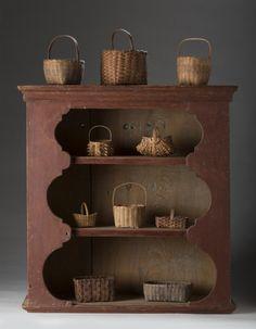 American miniature baskets
