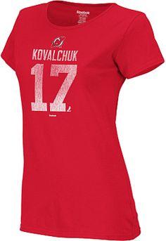 Reebok New Jersey Devils Ilya Kovalchuk Women's T-Shirt