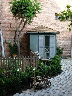English garden coop.