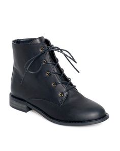 Similar shoes sell for $170 and higher.* This boot offers a sophisticated take on an outdoor-inspired style. Colors: Black, Chocolate. Fit: Runs slightly small, consider taking a 1/2 size up. Heel Height: 1 Material: Leather. Details: Front laces. *Price comparison of shoes with similar style, quality, features and materials.