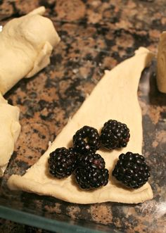 Easy Blackberry Dumplings! I have done this forever with Apples. Omit the water and use 1 can of Sprite or 7-Up (SO MUCH BETTER).