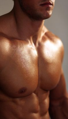 Inspiration for us guys to keep working our chest!  You to can have a chest like this...the hair removal is the easy part! :)