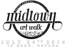 The annual Midtown Art Walk, July 24th, showcases the unexpected culture of our city's midtown district. By pairing artists with local merchants, this event stirs the senses with a variety of art, food and live performances.