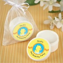 Ducky Duck - Lip Balm Personalized Birthday Party Favors