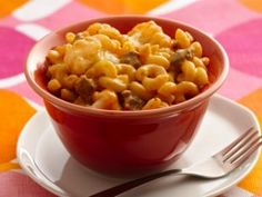 Cheeseburger Mac Attack from CookingChannelTV.com