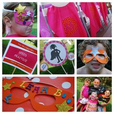 Superhero Girl Party #superhero #party