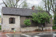 George Washington's headquarters, Winchester Adam Kurtz house, Braddock & Cork Streets, Winchester, Virginia, April 2012: better known as George Washington's headquarters