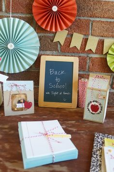 DIY Back to School Decor and Gift Wrap by Nicole at Right at Home