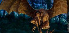 Estirge - Seres Mitológicos y Fantásticos