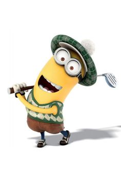 Scottish golf minion