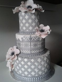 No words! ~ Just beautifully hand made  and all edible  ~ Cake Art!