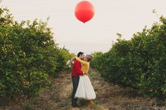 Winnie the Pooh Wedding Inspiration – with a giant red balloon! :)