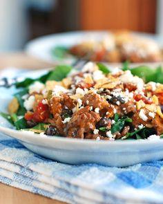 Tex-Mex Taco Salad (pretty sure I can veggie-fy this no problem)