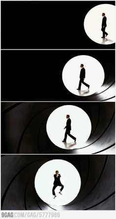 Bond, James... Wait... what?!