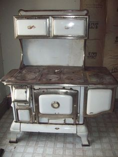 Antique Copper Clad cook stove in tdmeis' Garage Sale in Paynesville , MN for $800. Antique copper clad cookstove - works fine, cosmetically needs a little TLC. We have actually cooked in this oven recently! These types of stove are popular to convert to gas or electric. Refurbished, worth 3,000. Lot of potential.