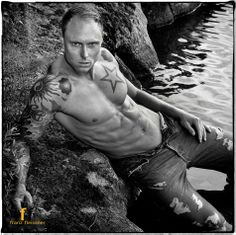 Photo © FRANZ FLEISSNER https://www.facebook.com/pages/Franz-Fleissner-Photography/325479867497608 # hot Swedish guy bodybuilder male fitness model six pack abs muscle shirtless