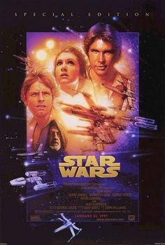 """Favorite movie of all time """"Star Wars"""""""