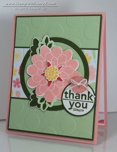 Stampin' Up! Flower Patch - Stampin' Up! - Stamp With Amy K; photopolymer