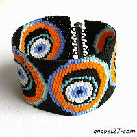 схемы браслетов из бисера free peyote pattern cuff bracelet