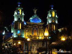Church in Otavalo, Ecuador.