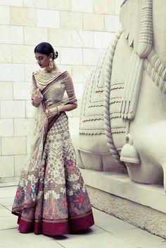 Bridal Inspiration: Tarun Tahiliani Spring Summer 2014 outfit, sari
