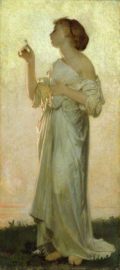 """Le desir de lautre"""" by  Léon-Jean-Bazille Perrault (French, 1832-1908)"""