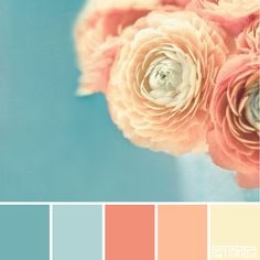 Bridal Blooms #patternpod #patternpodcolor #color #colorpalettes