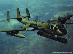 STRANGE SPY PLANE - OV-1 MOHAWK B MODEL