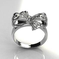 Tiffany Bow Ring.......love this!!