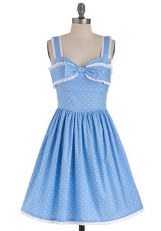 Little Blue Peep Dress $99.99