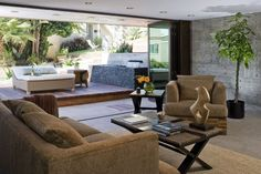 Contemporary, modern house designed by Los Angeles, California-based Lazar Design/Build. Residence is located in Manhattan Beach.