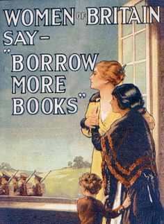 Alas, this is a call more should heed these days, too. #vintage #war #WW1 #reading #poster