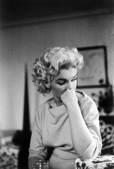Marilyn Monroe by Ed Feingersh in New-York, 1955