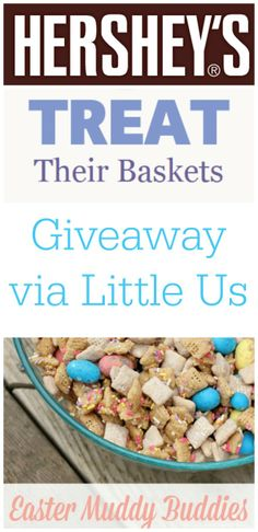 HERSHEY'S S Easter Chocolate Giveaway via @Christa Vickers #littleusrecipe #giveaway #bunnytrail (Inspired Post)