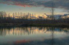 Bitterroot River - Missoula, Montana  By Mark Mesenko