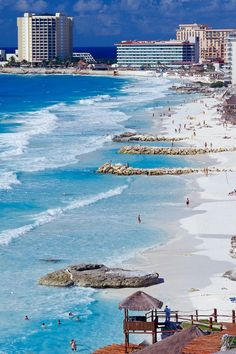 Cancun Shoreline, Mexico