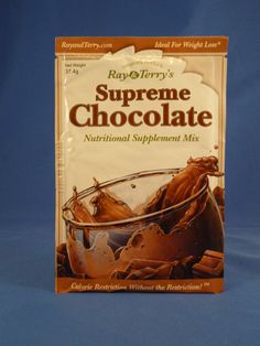 Free Sample of Ray & Terry's Supreme Chocolate Supplement Mix