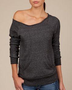 Maniac Sweatshirt (Jan - June) pair it with a nursing tank top.
