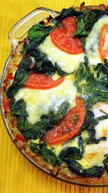 Tomato and Spinach Pie over a Quiche ala Drick's Rambling Cafe... How ...