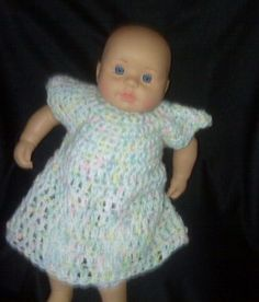 How to Crochet Doll Clothes for Any Size Baby Doll