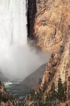Tower of the Fall - Yellowstone National Park