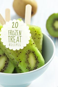 Recipes for Frozen Treats