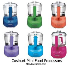 Cuisinart mini food processor. My favorite kitchen tool. Comes in all sorts of fun colors, too.