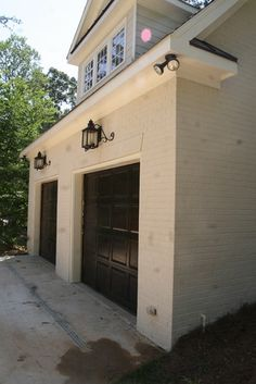 Black Garage Door On Pinterest Garage Doors Black