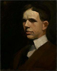 Self-Portrait - Edward Hopper