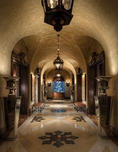 Arched Walls...Hallway