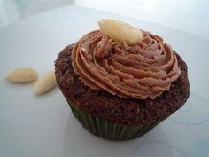 Schoko-Cupcakes mit Nuss-Nougat-Creme
