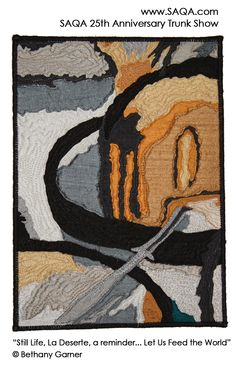 Art quilt by Bethany Garner #artquilts #SAQA